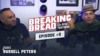 RUSSELL PETERS IS A FUNNY MOTHERF**KER! Breaking Bread w/ Nick Turturro #8
