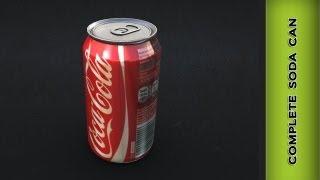 Autodesk Maya 2014 - Complete Soda Can Modeling