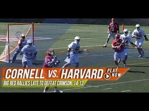Cornell vs. Harvard | 2013 Lax.com College Highlights