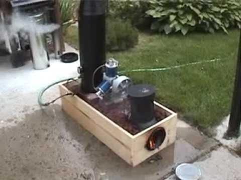Lynx Rocket Stove Monotube Steam Boiler Youtube