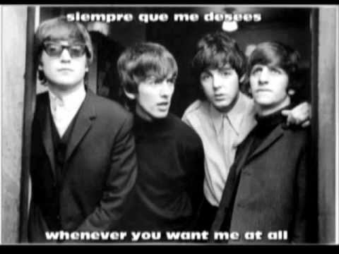 The Beatles - All I've Got To Do - Lyrics Español/Inglés