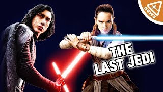 Will Kylo Ren & Rey Team Up in Star Wars The Last Jedi? (Nerdist News w/ Jessica Chobot)
