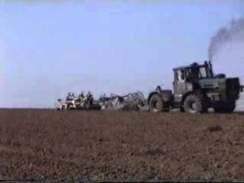 Kharkow T 150 K beim pflügen 1992_.flv