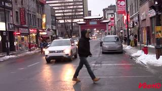 barrio chino invierno, Montreal