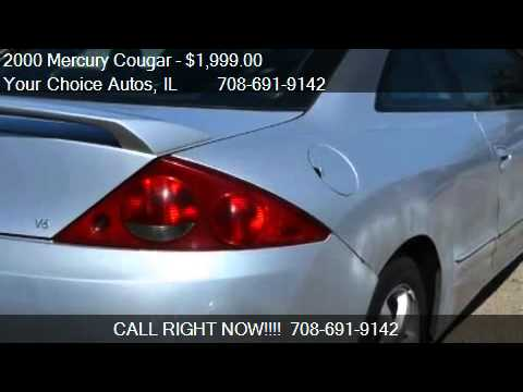 2000 Mercury Cougar V6 - for sale in Crestwood, IL 60445