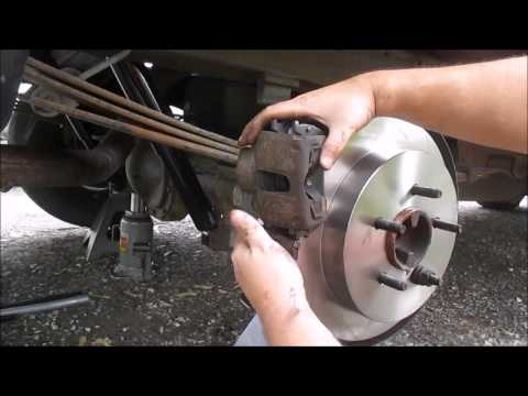 How to Change Rear Rotors and Brake Pads on a Ford F150