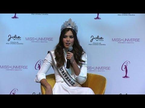 La Miss Univers colombienne ne rencontrera pas les FARC