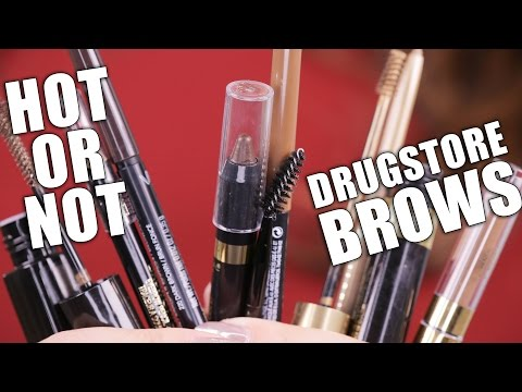 DRUGSTORE BROWS PRODUCTS   Hot or Not