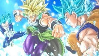 BREAKING LEAK!!! BROLY VS GOKU & VEGETA DRAGON BALL SUPER MOVIE