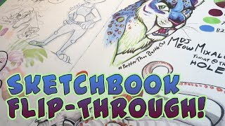 Sketchbook Flip-through!