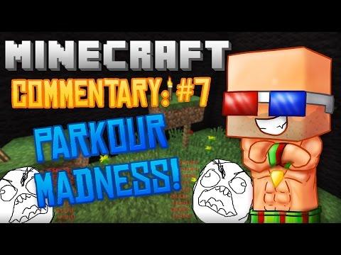 Minecraft Commentary-PARKOUR MAP!!! /w DaZambiMan and GamerAndDesigner