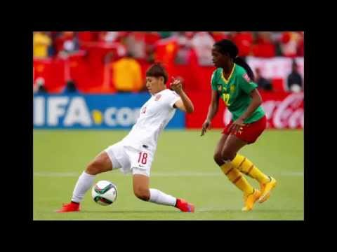 China vs Cameroon - FIFA Women's World Cup 2015