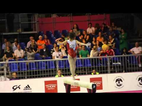 Sophia SERSERI FRA, Beam Senior Qualification, European Gymnastics Championships 2012