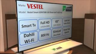 Vestel Smart 65FA7500 165 Ekran LED Tv (65 inç) - EkoBeyazEşya