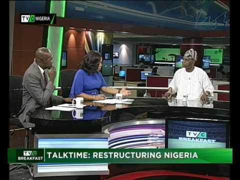 Topic: Restructuring Nigeria