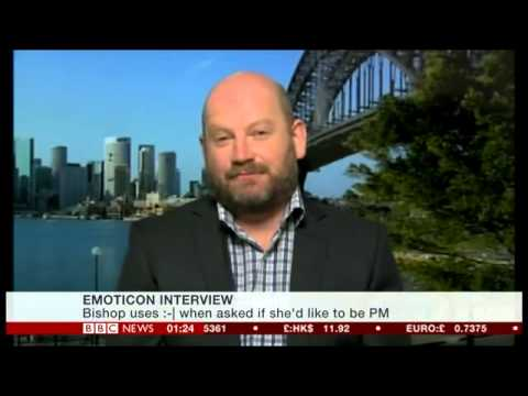 BBC Newsday mentions BuzzFeed Australia's political emoji interview with Julie Bishop 2-17-15