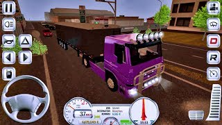 Euro Truck Driver Simulator #14 NIGHT DRIVING -Truck Game Android IOS gameplay