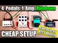 Cheapest Pedals For Royal Blood Style Effects With 1 Amp mp3
