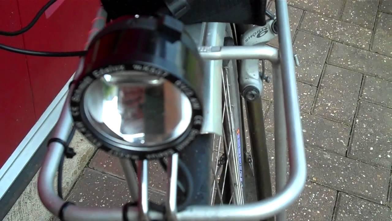 Bike Touring Bottle Dynamo