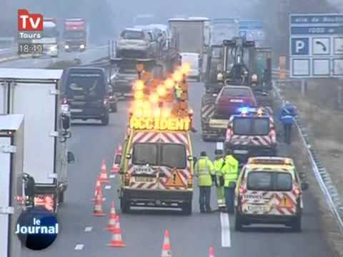 Accident mortel sur l'autoroute A10 - Fatal accident on the A10