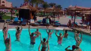 Albatros Garden - Hurghada- Animation on the pool