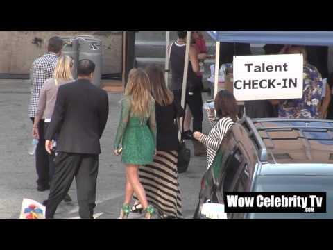 Jennifer Lopez spotted backstage at Award Show in Hollywood
