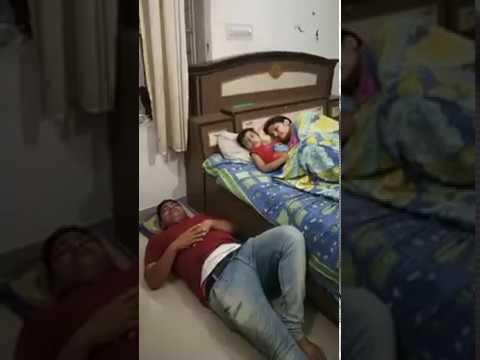 #worldfunnyvideos | papa ko mami ke pass sone ni diya | shararti bacha|husband wife funny videos, thumbnail