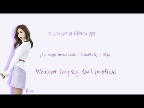 TWICE (트와이스) One In A Million Musics (Han|Rom|Eng) Color Coded