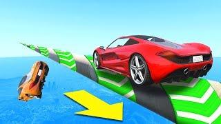 EXTREME PRECISION Tightrope Skill Challenge! - GTA 5 Funny Moments
