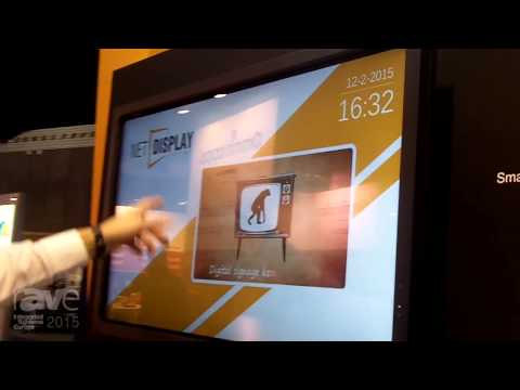 ISE 2015: Net Display Systems Displays Smart Meeting Room Signage