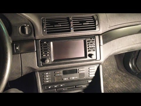 BMW E39 5-Series MKIV & 16:9 Display Navigation Upgrade DIY