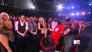 Rick Ross Entrance MTV Music Awards 2010
