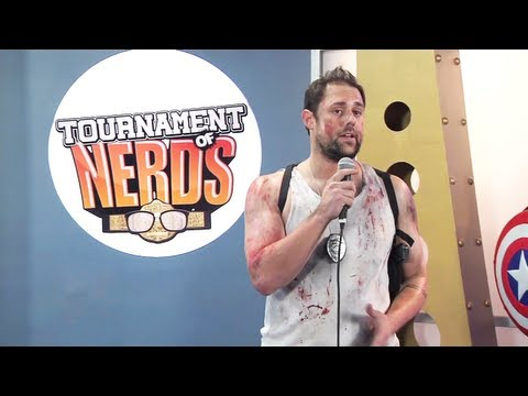 Captain America Vs  John McClane - [NSFW] Tournament of Nerds - Round 1