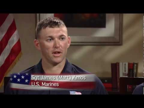 Sgt James matt Amos video