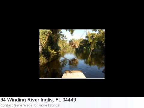 Real Estate In Inglis, Fl- 94 Winding River Is An Adorable 4