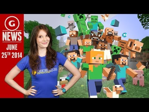 Minecraft Console Sales Surpass PC; More Xbox One Features Coming - GS Daily News