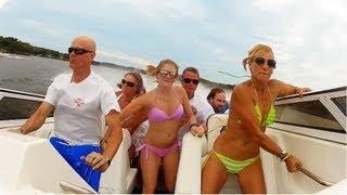 බැරි වැඩ කරන්න ගිහින් 7 දෙනෙක්ගේ ජීවිත අනතුරේ වැටෙන හැටි බලන්න !! Seven Person Boat Crash
