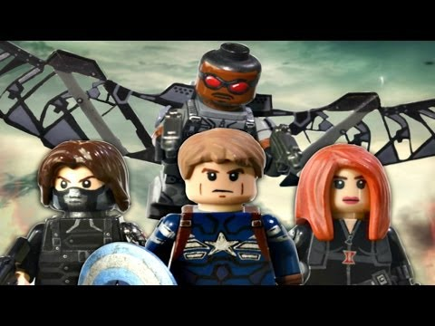 LEGO Marvel : Captain America: The Winter Soldier Minifigures - Showcase