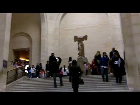 Winged Victory of Samothrace- Inside the Louvre Video