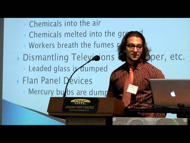 Arman Sadeghi - 2013 Golden West College Peace Conference
