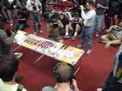 World Series of Beer Pong Championship Game Las Vegas 2006