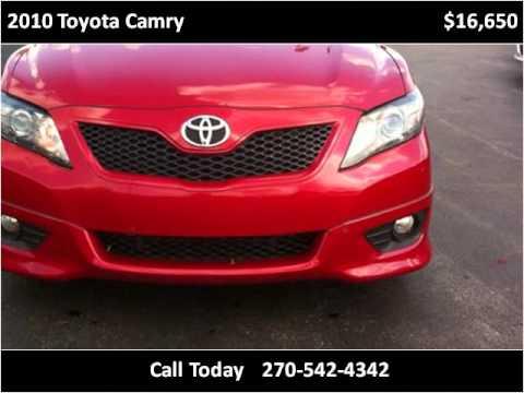 2010 Toyota Camry Used Cars Auburn KY