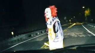 When creepy clowns attack