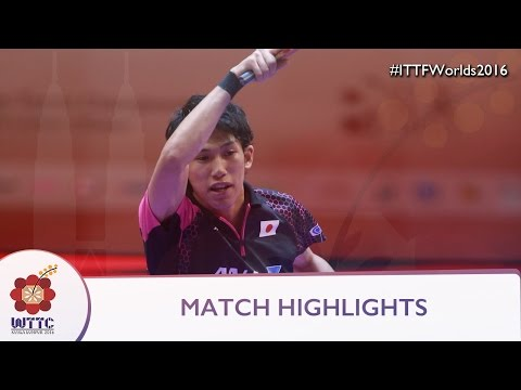 2016 World Championships Highlights: Ma Long Vs Maharu Yoshimura