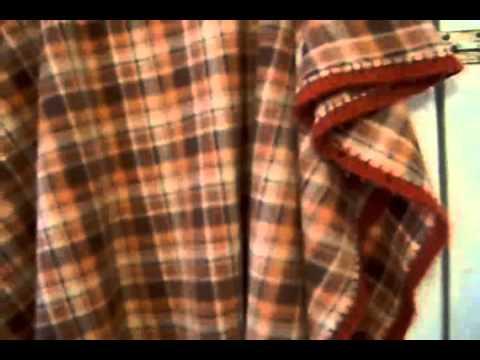 Como hacer un poncho rapido vertical youtube - Como hacer un cabecero de tela ...