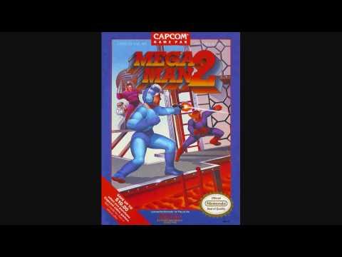 Misc Computer Games - Mega Man 2 - Dr Wilys Castle Stage 1