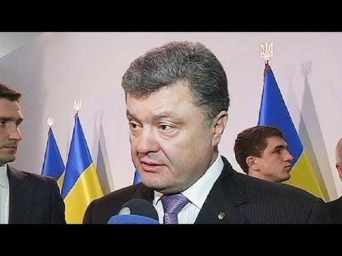 Ukraine : Petro Poroshenko refuse tout fédéralisme
