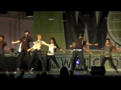 GRV Performing at World of Dance Pomona  (WOD) 2010 Music Videos