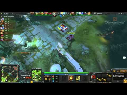 RoXKIS vs DD DOTA Game 2  DOTA 2 International Western Qualifiers  TobiWan  Soe