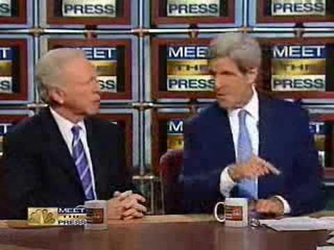 Obama Spokesman John Kerry Hasn't Seen McCain's Celeb Ad